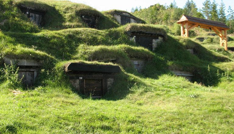Cellars or the Slovak Hobbiton